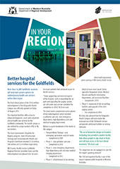 Image of In Your Region newsletter coverpage
